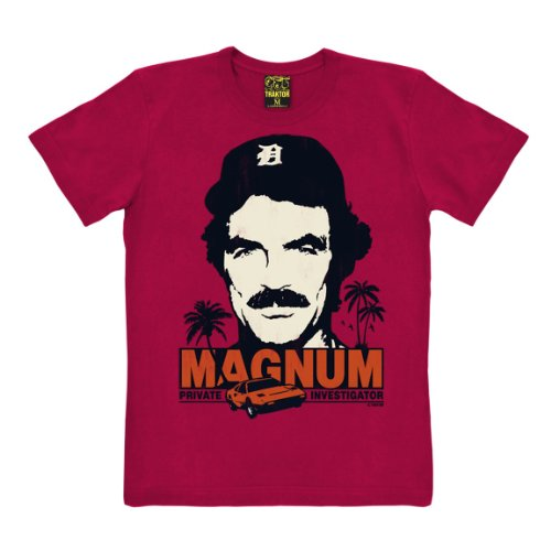 80s Magnum P.I. Loose Fit T-shirt for Men, 2 Colours, XS to XXL