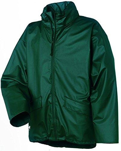 Helly Hansen Workwear Regenjacke wasserdicht Voss Jacket, grün, 70209, XL