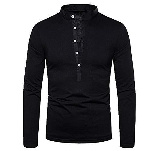 Camiseta de los hombres de la camiseta de manga larga de los hombres de la camiseta