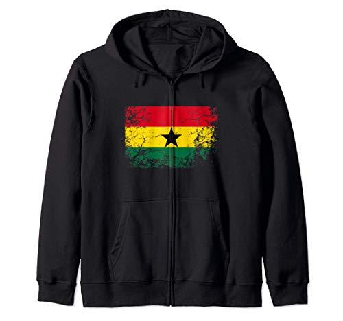 Bandera de ghana - Republic of Ghana Flag Sudadera con Capucha