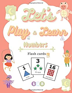 Let's play & learn numbers: Flash cards