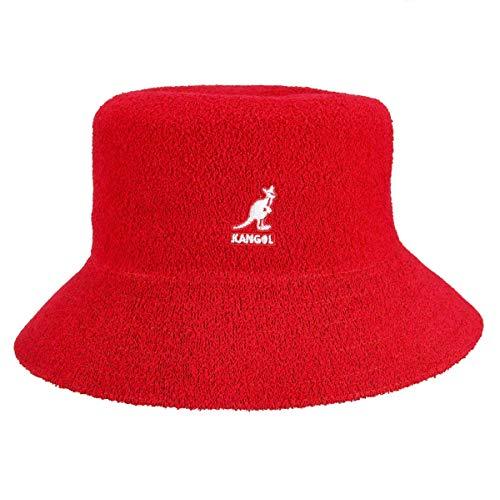 kangol Kangol Unisex Bermuda Bucket Fischerhut, Red (Scarlet), Small