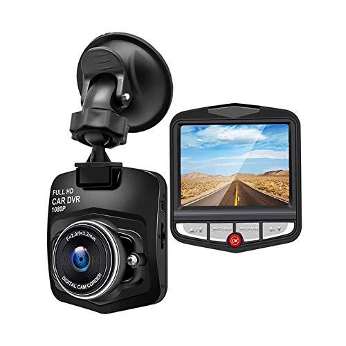 KOLOSM Cámara De Coche Cámara de automóvil de 2.4 Pulgadas HD Dashcam Portátil Mini Recorder Dash CAM Cámara Auto Vehical Mini Cámara (Color Name : Z1, SD Card Memory : None)