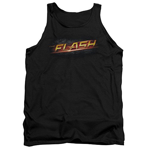 Logo Hommes Débardeur - Flash, XX-Large, Black