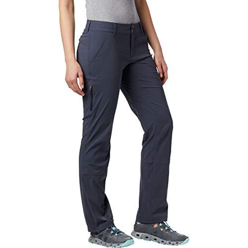 Columbia Pantalón de senderismo para mujer, Saturday Trail Pant, Nailon, Gris (India Ink), Talla W44/R, 1579861