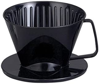 HIC Harold Import Co. 2661 HIC Coffee Filter Cone, Black, Number 1-Size, Brews 1 to 2-Cups, No.1