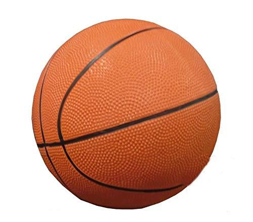 Loisirs Distribution - Ballon Basket Caoutchouc Taille 7 (Livré À Plat), Coloris Assortis