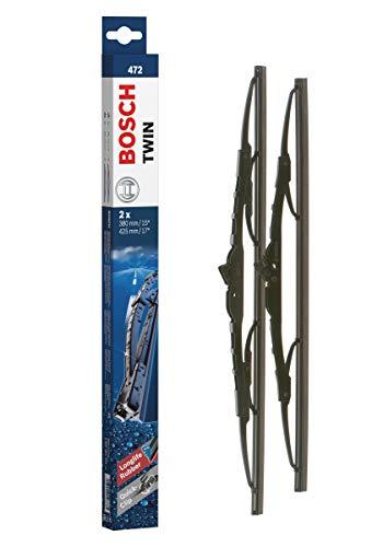 Bosch Scheibenwischer Twin 472, Länge: 450mm/400mm – Set für Frontscheibe