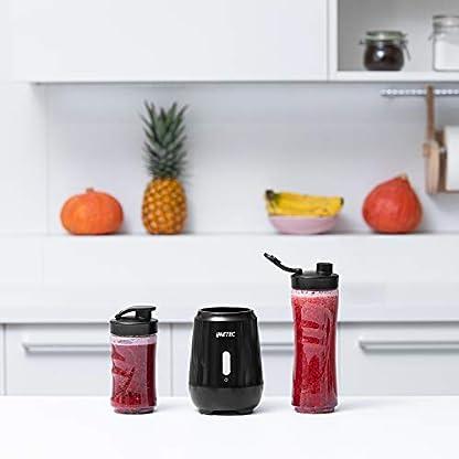 Imetec-Personal-Blender-PB-100-Mini-Mixer-mit-2-Flaschen-Flaschen-aus-Tritan-und-4-Klingen-aus-Edelstahl