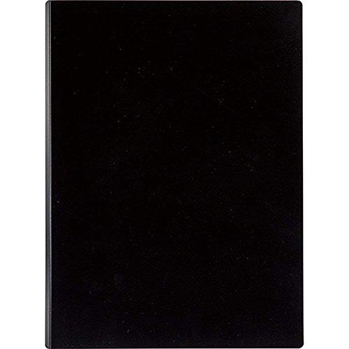 セキセイ マグネット式 クリップファイル マグネプラス A4 ブラック ACT-5924-60 【まとめ買い3冊セット】