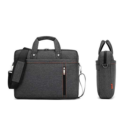 N-B Laptoptasche 17,3 17 15 14 13 Zoll stoßfester Airbag wasserdichte Computertasche Herren und Damen Luxus Dicke Notebook-Tasche