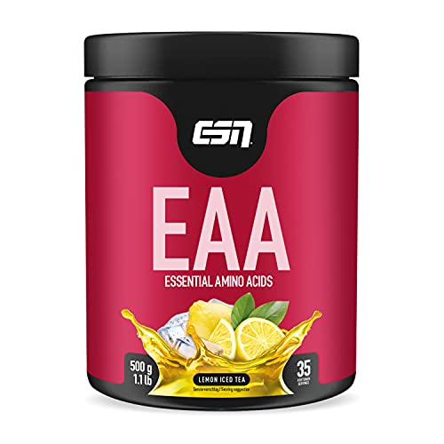 ESN EAA, Lemon Iced Tea, 500g Dose