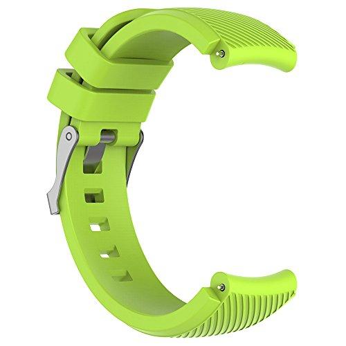 Riou Correa para Reloj,Compatible con HUAMI Amazfit Stratos Smart Watch 2 Correa de Reloj Suave de Silicagel para Reloj Deportivo Pulseras de Repuesto