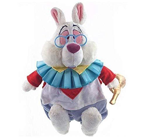 Siamrose 38 cm original Alicia en el pas de las maravillas conejo blanco dibujos animados lindo peluche juguete mueca nios cumpleaos peluche grande LTLNB