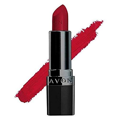 Avon True Color Perfectly Matte Lipstick - Red Supreme - 4gm