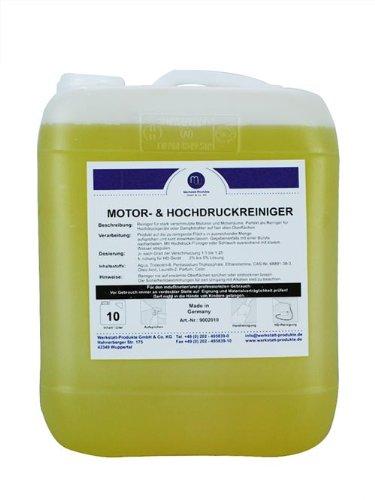 MW Motor Hogedruk-stoomreiniger vet remover concentraat 10L