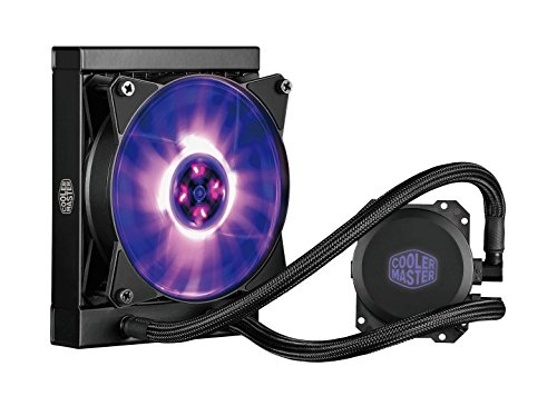 Cooler Master Masterliquid Ml120L Rgb Cpu Waterkoeling, Instelbare Licht Effecten, Dual Dissipation Pomp En 120 Mm Air Balance Fan