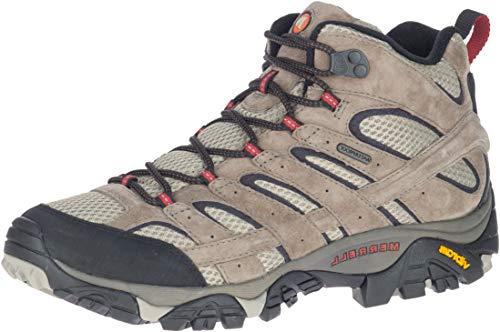 Merrell Men's Moab 2 Mid Waterproof Bark Brown Hiking Boot 14 M US
