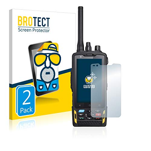 BROTECT 2X Entspiegelungs-Schutzfolie kompatibel mit RugGear RG760 Bildschirmschutz-Folie Matt, Anti-Reflex, Anti-Fingerprint