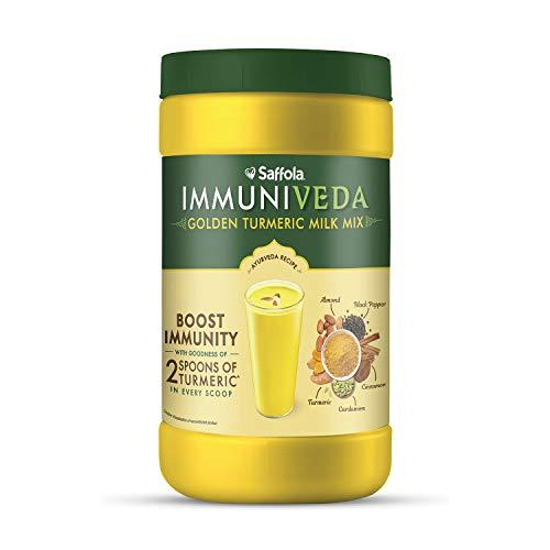 Saffola Immuniveda Golden Turmeric Milk Mix