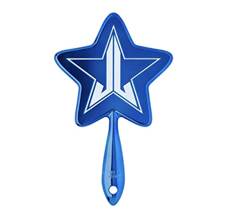極端な右一握りJeffreeStarCosmetics ジェフリースターコスメティック bluechrome メタリックブルー 星形 手鏡 ミラー