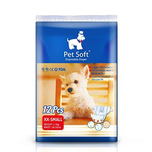 Pet Soft Pet Disposable Female Puppy Dog...