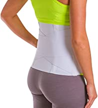 BraceAbility Women's Back Brace for Female Lower Back Pain Treatment & Lumbar Support (Large)
