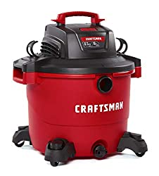 CRAFTSMAN 16 Gallon Wet/Dry Shop Vac With Attachments