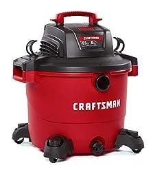 CRAFTSMAN CMXEVBE17595 16 Gallon Shop Vacuum