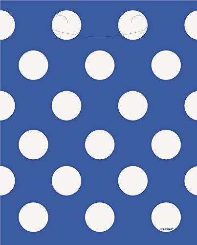 Royal Party à friandises Motif à pois Bleu 8