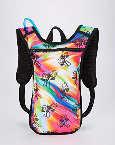 Spencer's Trippy Mushroom Hydration Backpack
