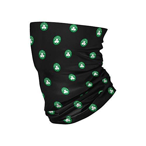 Boston Celtics NBA Mini Print Logo Gaiter Scarf