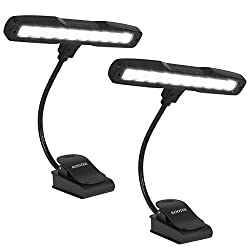 Kootek 2 Pack Clip-On Piano Lamp - Best Piano Lamps and Piano Lights