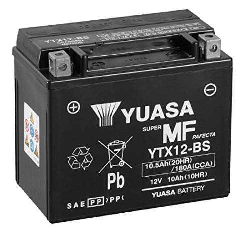 Yuasa 212120 Batteria YTX12-BS 12V