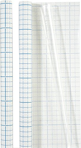Brunnen 1040061 Buch-, Heftumschlag Bucheinbandfolie (selbstklebend, 100 x 45 cm) transparent