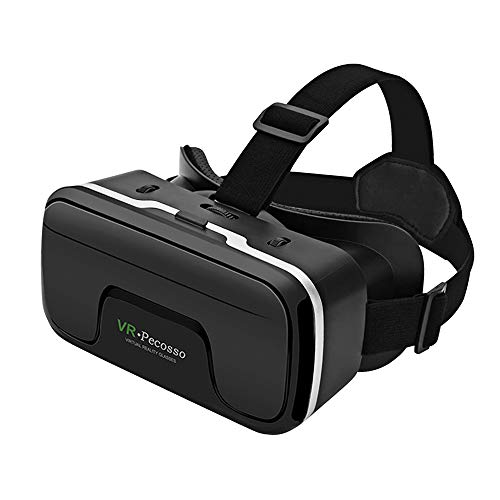 Pecosso VR Headset Virtual Reality Glasses Compatible with iPhone & Android...