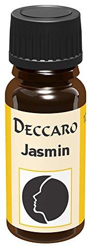 DECCARO Aceite aromático Jazmin, 10 ml (Aceite de Perfume)
