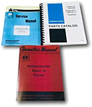 International Farmall Super A Tractor Service Operators Parts Manual Catalog Set