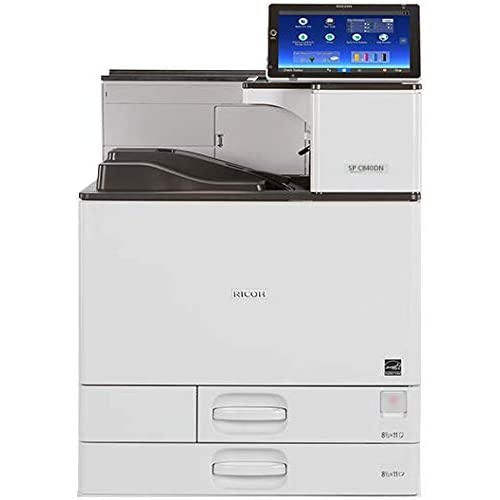 Amazon.com: Ricoh 408105 SP C840DN Color Laser Printer ...
