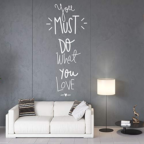 JZYIH Frases de amor Familia Pegatinas de pared Arte mural Decoración del hogar Dormitorio Decoración infantil Decoración Accesorios M 58cm X 25cm