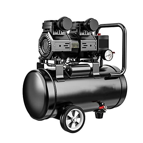 WUK Compresor de Aire sin Aceite 1500W Bomba de Aire portátil silenciosa 30 / 40L para renovación del hogar Compresor de inflado de neumáticos Pintura en Aerosol Herramientas neumáticas Bomba Dental