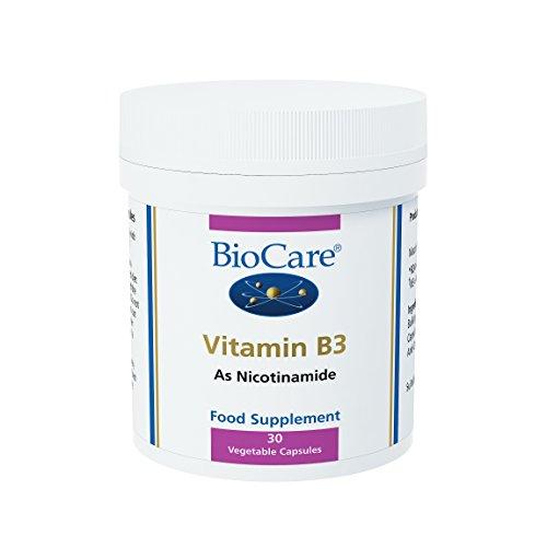 Biocare Vitamin B3 Niacinamide Vegetable - Pack of 30 Capsules