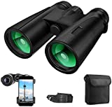 Best Compact Binoculars - Binoculars for Adults, 12x42 Compact Binoculars Birdwatching, Hunting Review