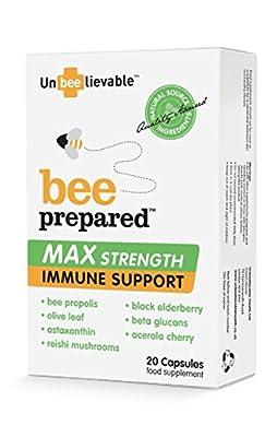 (Pack Of 10) Bee Prepared Max Strength | UNBEELIEVABLE HEALTH