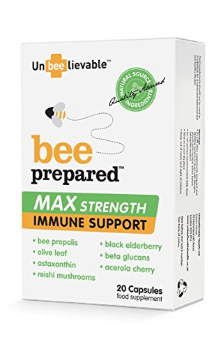 Max Strength Immune Support (20 Capsules) - x 2 *Twin DEAL Pack*