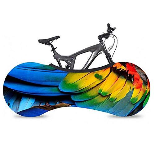 XINTUON Cubiertas de bicicleta de montaña para almacenamiento exterior cubierta 2 bicicletas Accesorios fácil de empacar proteger la bicicleta