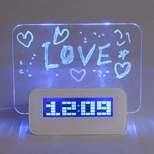 Baban Multifunctional LED Digital Alarm Clock/Calendar/Thermometer +...