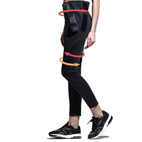 SADWF Saunahosen für Frauen zum Abnehmen, Leggings zum Reduzieren des Abnehmens, Leggings Gegen Cellulite mit Hoher Taille, Push-up-Fitnessstrumpfhosen für Das Sportlauf-Yoga-Fitnessstudio