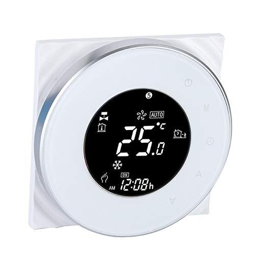 SALUTUYA Pantalla táctil LCD del termostato del termostato de la calefacción de Agua por Suelo Radiante, Inicio