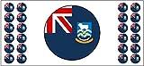 Falklandinseln Flaggenbanner – Poster –